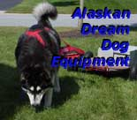 AlaskanDream.org - Alaskan Dream Dog Equipment - Weight pull, sledding and more